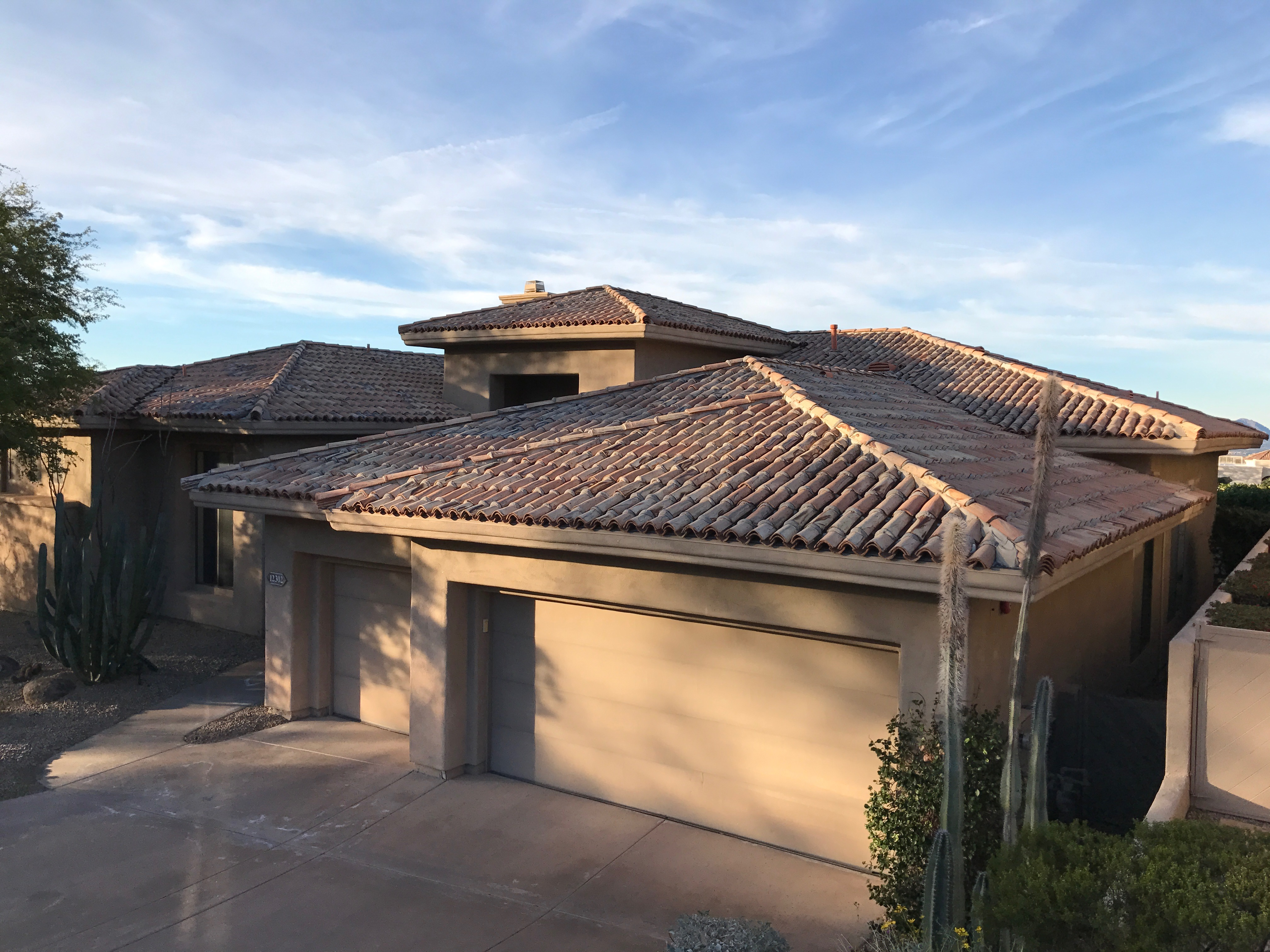 Triangle Roofing Amp Triangle Roofing Landscape Contemporary