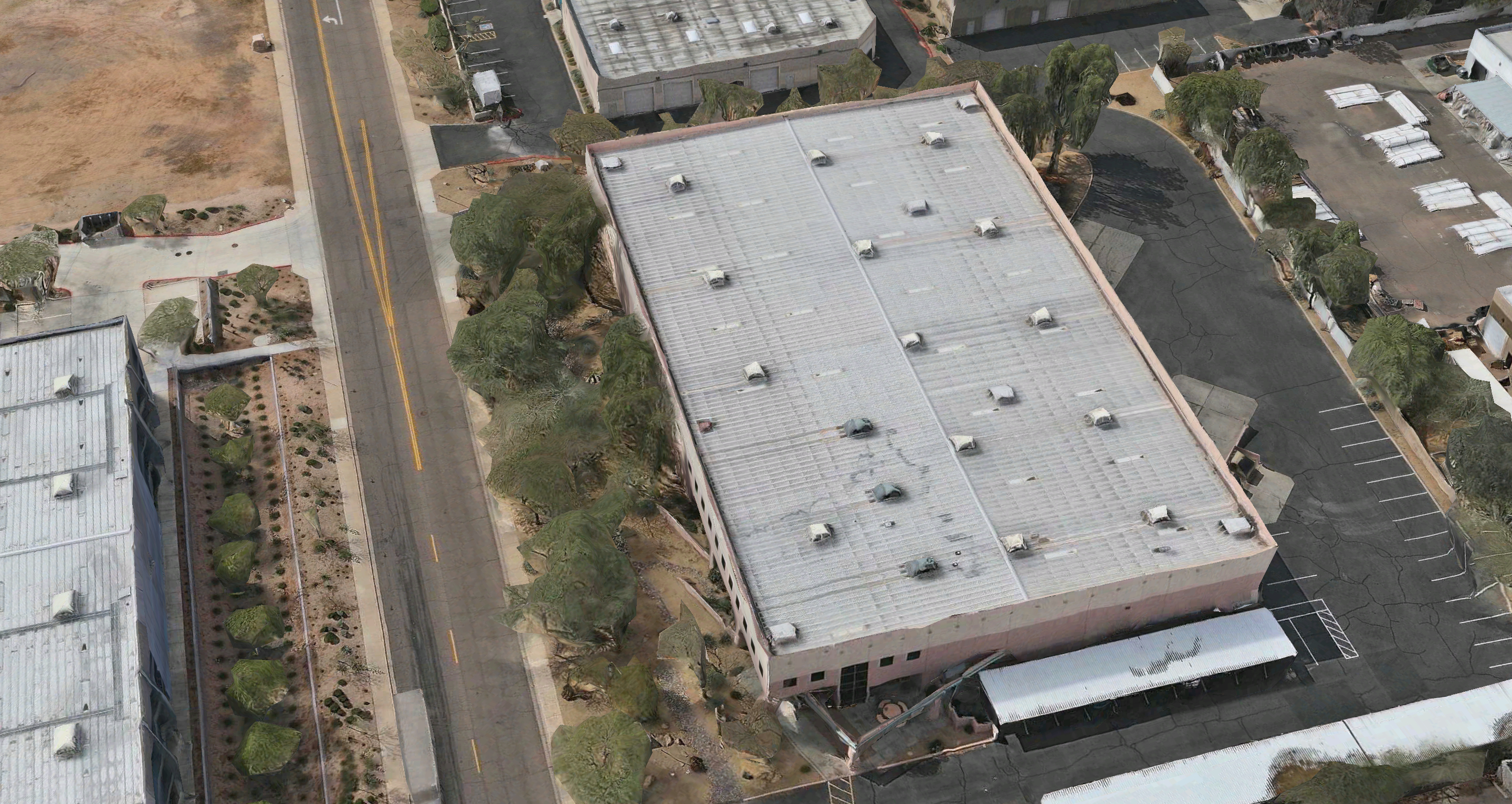 Roofing Phoenix Commercial Building