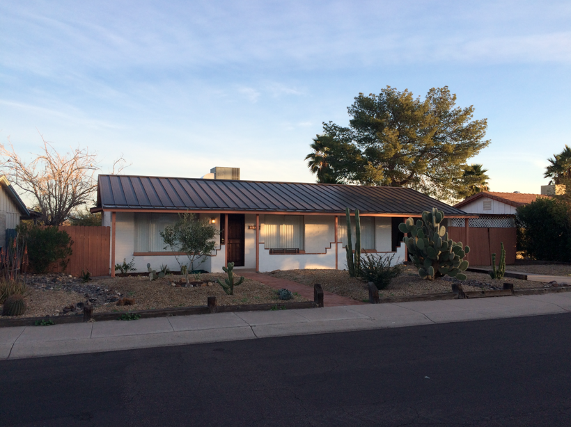 Roofing Estimate Phoenix After new metal Standing seam roof